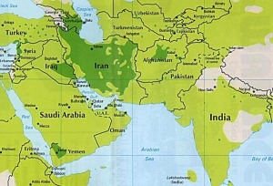 Saudi Iran rivalry is all about Shia Sunni ownershi of the oil